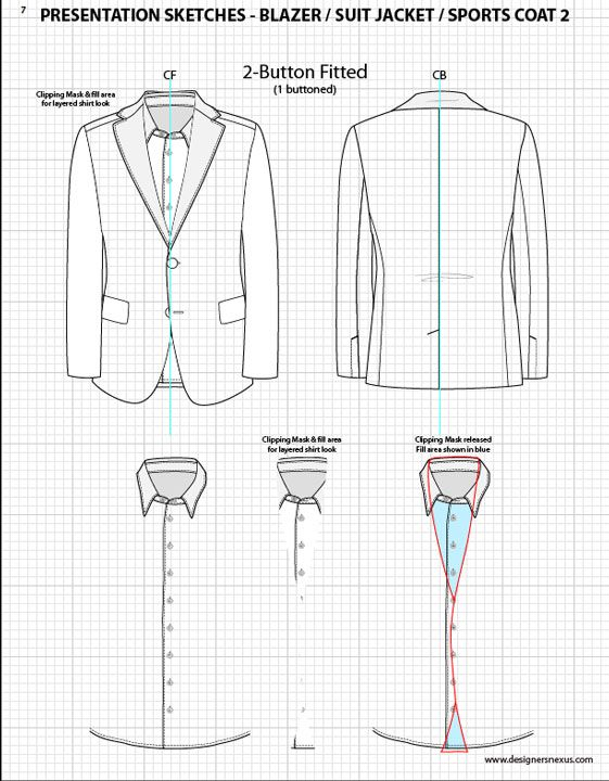 Flats, Suits and Design templates on Pinterest