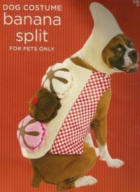 Banana Split Dog Halloween Pet Costume (Large Size 25-50 ...
