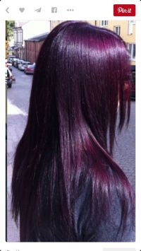Eggplant Purple Hair Aveda Color Hair To Dos Pinterest Of ...