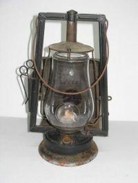 Antique vintage dietz victor wagon kerosene lantern oil ...