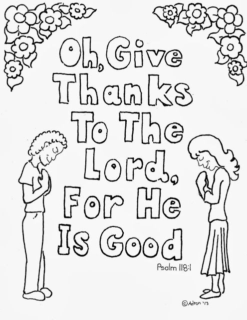 Coloring pages for kids, Psalms and Coloring pages on