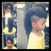 kids #braided #mohawk hairlife