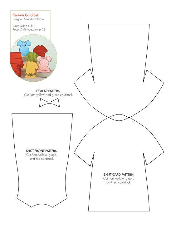 Free templates for a Peanuts card set: http://www