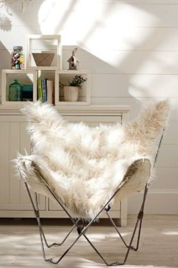 furry butterfly chair  Pad  Pinterest  Chairs