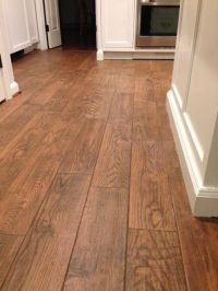 Flooring; Marrazzi Gunstock Oak porcelain tile, Home Depot