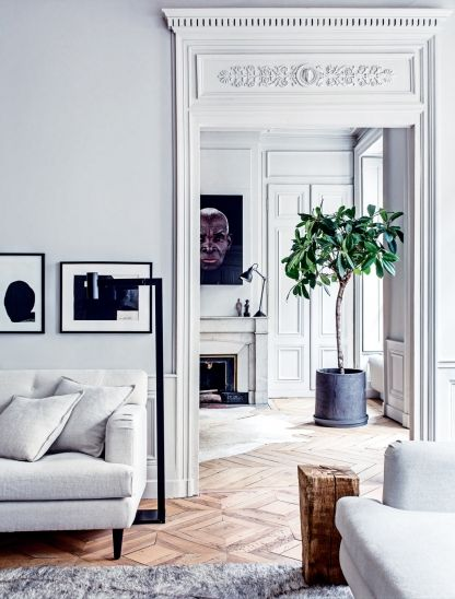 House tour: a modern French apartment within an opulent 19th-century shell - Vogue Living: