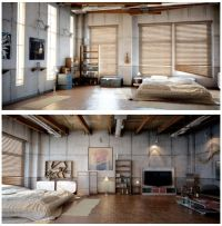 Studio apartments, Industrial and Twists on Pinterest