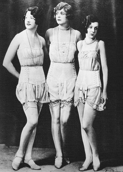 1920s Underwear | Breve história sobre Lingerie _ Parte II: