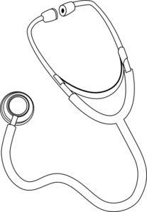 Nurse Heart Stethoscope Clip Art