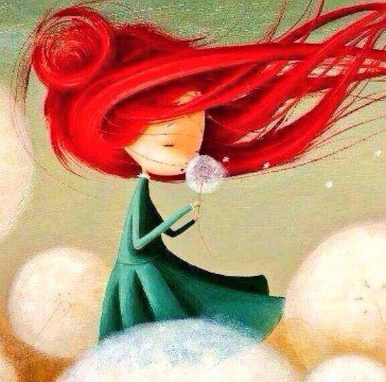 Noelia Blanco「Im Garten Der Pusteblumen」 Illustrations