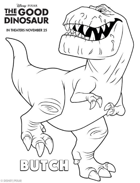The Good Dinosaur #Free #Printable Coloring Sheets, Games
