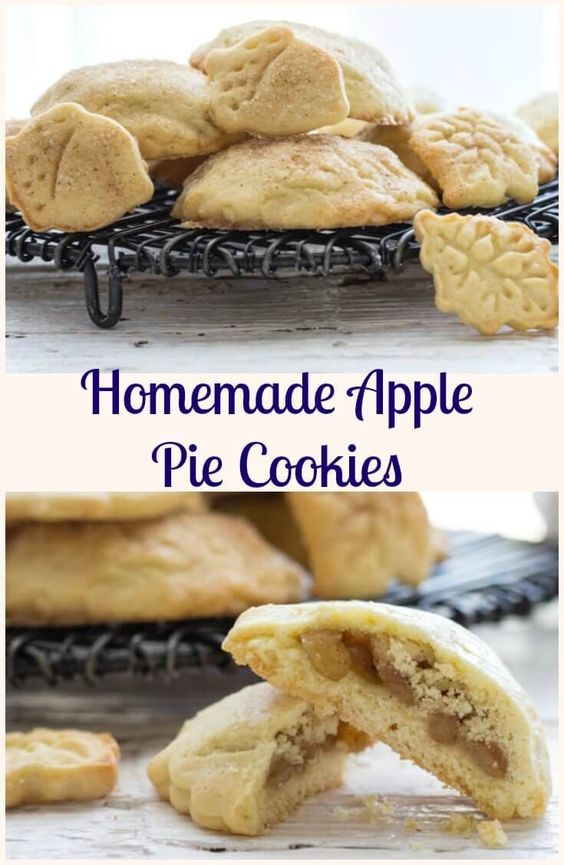 apple pie cookies easy cookie recipes and homemade apple pies on