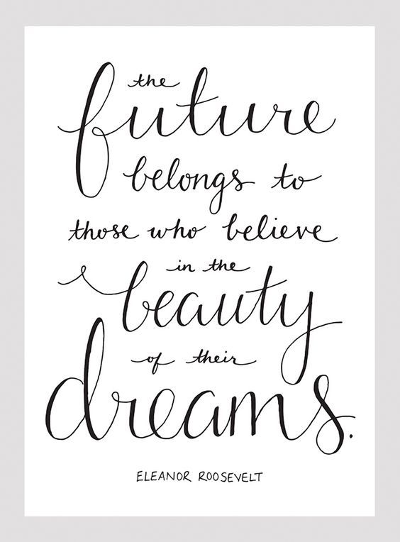 Future Belongs To Those Who Believe Short Graduation Inspirational Quotes - Tap to see more inspirational quotes about change, motivation and better life. @mobile9: