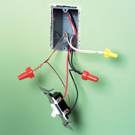 Would Be A Plug In A Series Of Plugs When You Are Running The Wire