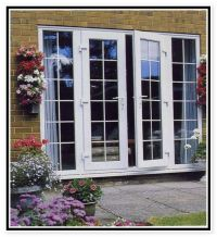 outswing french door on brick house images