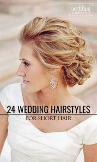 Very Short Hair Updos For Weddings