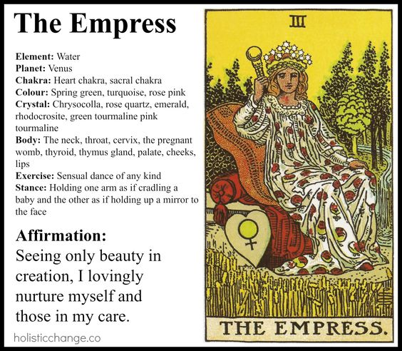the empress tarot meaning relationship