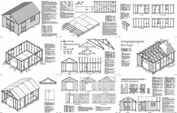 Shed plans, Sheds and Showers on Pinterest