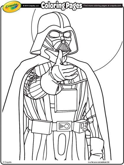 Darth Vader Mask Printable Sketch Coloring Page