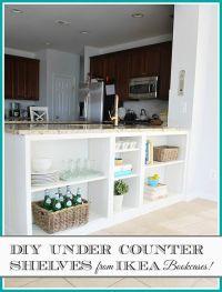 HomeRight Bookcase Challenge--DIY Bookcase to Kitchen ...