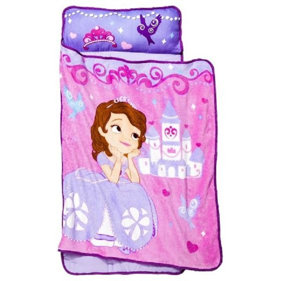 Toddlers Preschool Daycare Nap Mat with Pillow and Blanket