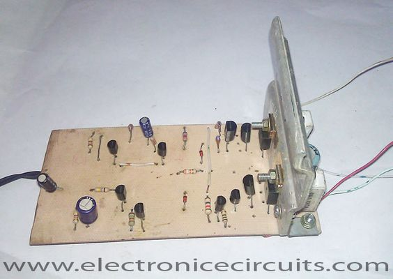 Transistor Audio Power Amplifier Circuit Diagram Amplifiercircuit