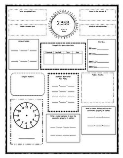 The day, Numbers and Worksheets on Pinterest