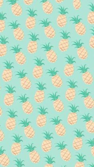 Resultado de imagem para papel de parede abacaxi tumblr