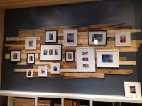 Reclaimed wood wall decor | Decorating | Pinterest ...