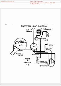 I need vacuum hose diagram for my 94 cutlass supreme v6 3