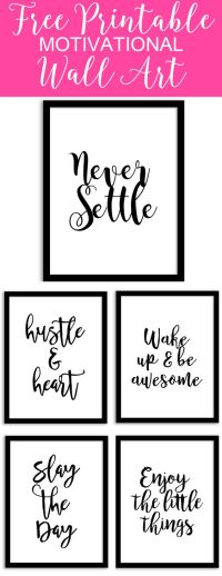 Free Printable Wall Art from @chicfetti - perfect for your ...