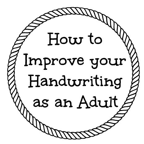 Exercises to Improve Handwriting as an Adult and Review of