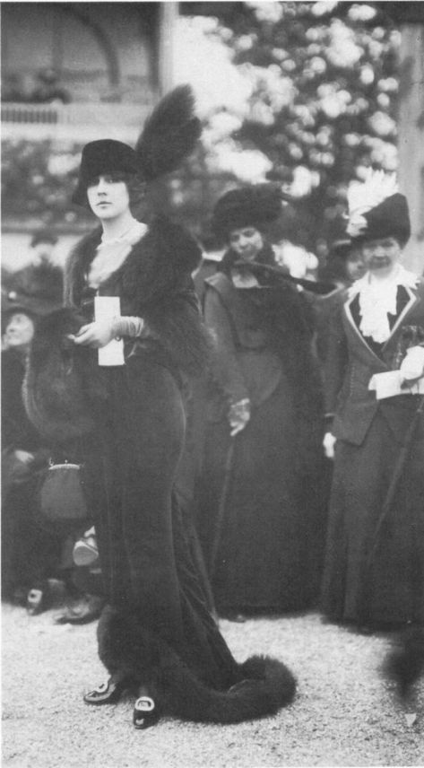 1912. (And because the Dat Ass look on the ladies faces behind her...lol):