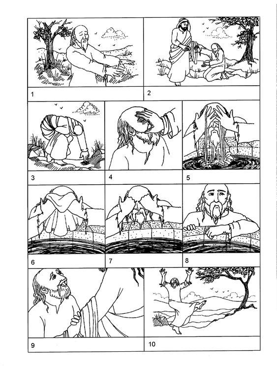 Jesus heals, Coloring pages and Jesus on Pinterest