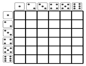 Use this dice grid template to fill in vocabulary words or
