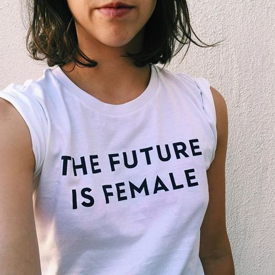 The Future is Female T-shirt / AVAILABLE NOW! – Otherwild: