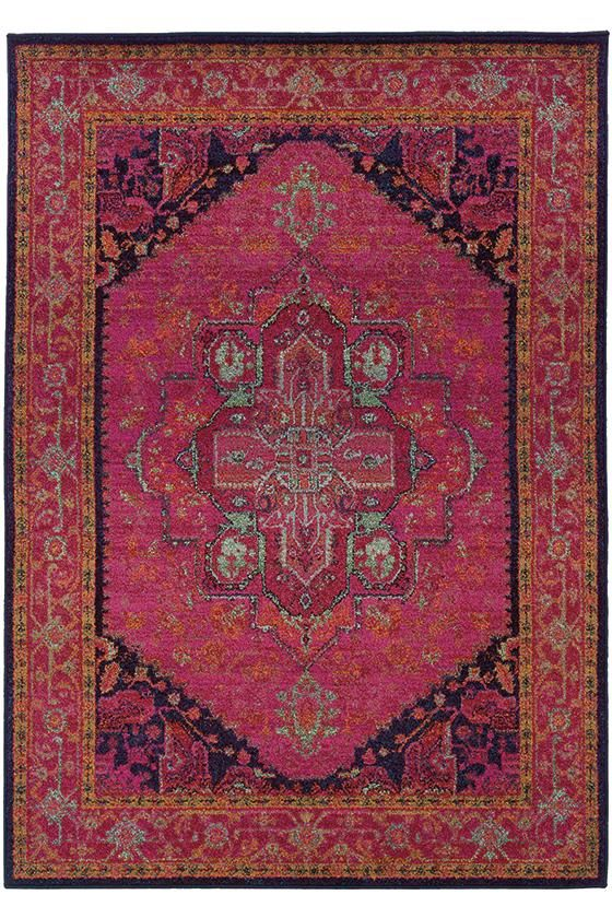 Pretty In Pink This Rug Will Add The Right Amount Of Pizzazz To
