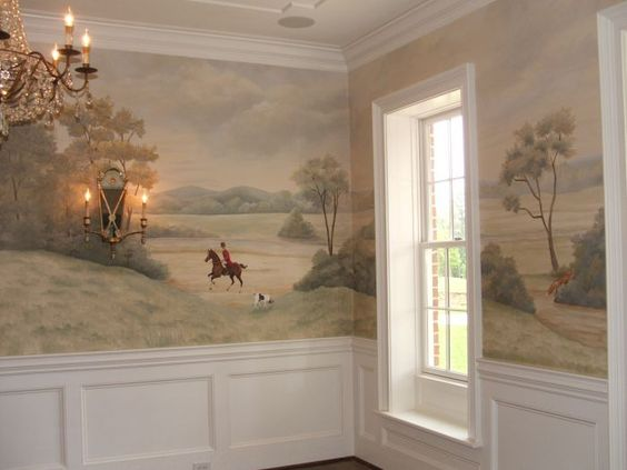 chair slipcovers ideas tommy bahama beach backpack murals, foxes and hunt's on pinterest
