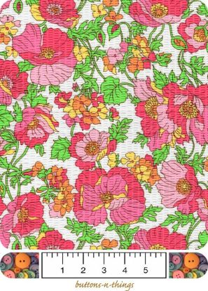 This is the floral seersucker fabric I have.