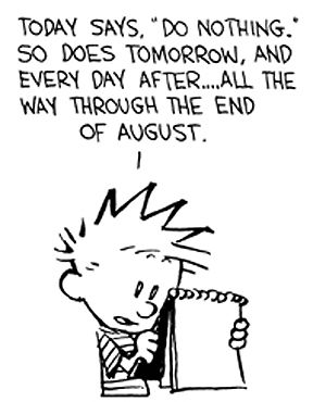 Calvin and hobbes, My calendar and All tied up on Pinterest