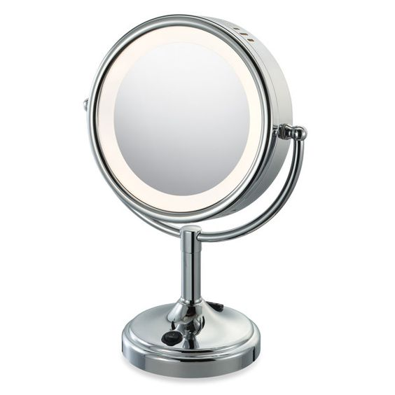 Mirror Lighted vanity mirror and Target on Pinterest