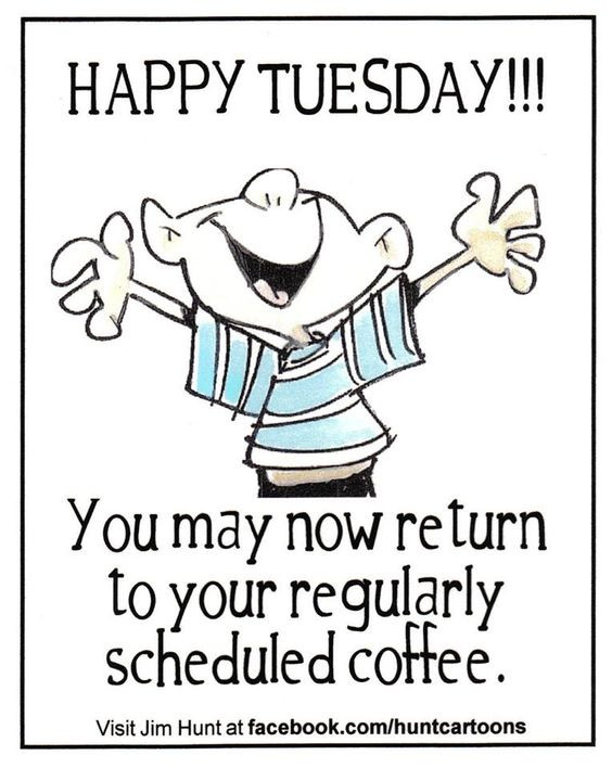 Happy Tuesday!! Good morning sister! Have a super great