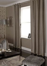 Details about Luxury Chenille Natural Mink Curtains ...