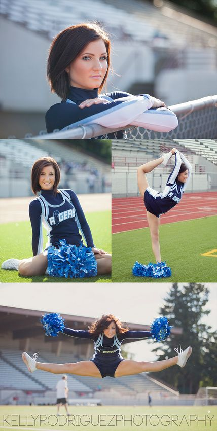 Cheerleading Photography, Cheer Photos, Senior Portraits