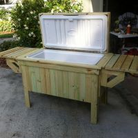 Diy Patio Table With Cooler Plans - build a patio table ...