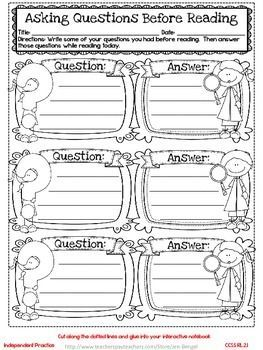 Freebie! This resource includes two grade 2 common core