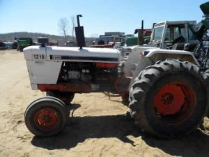 David Brown 1210 tractor salvaged for used parts This