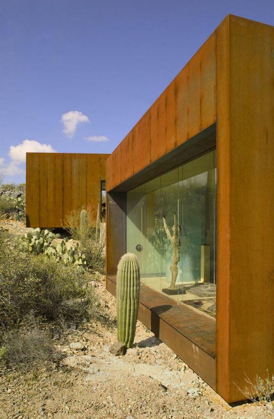 Steel And Glass House Architect Rick Joy Tucson AZ