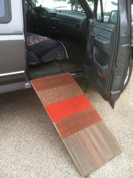 Dog Ramp Ramps For Trucks And A Dog On Pinterest