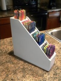 nspiration to make your own out of a cheap magazine holder ...